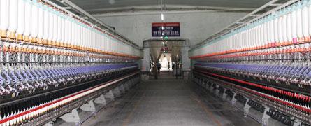 涤棉纱生产线