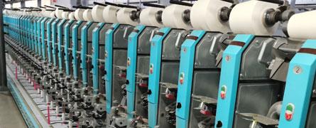 纯棉纱生产线