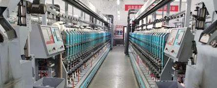 混纺棉纱生产线