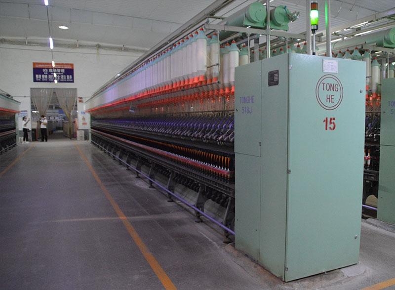 棉纱生产线