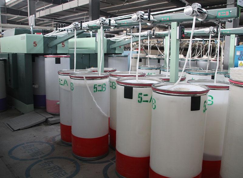高配赛络纺生产线